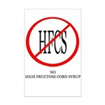No HFCS Mini Poster Print