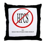 No HFCS Throw Pillow