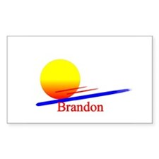 Brandon Rectangle Decal