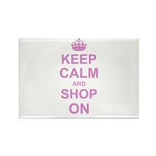 Keep Calm and Shop on Magnets