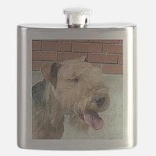 lakeland terrier Flask