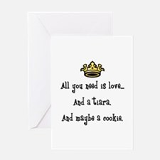 Love And A Cookie Greeting Card