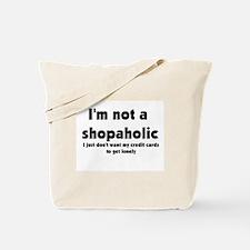 Shopacholic Tote Bag