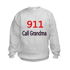 911 Call Grandma Sweatshirt