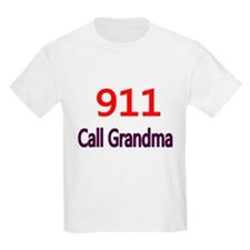 911 Call Grandma T-Shirt