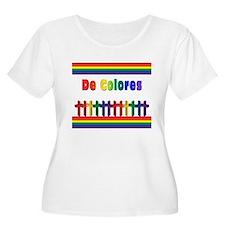 De Colores Marching Crosses Plus Size T-Shirt