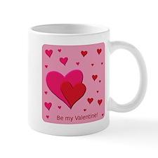 Be My Valentine Hearts Mugs