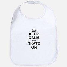 Keep Calm and Skate on Bib