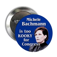 Ten Bachmann is Too Kooky Buttons