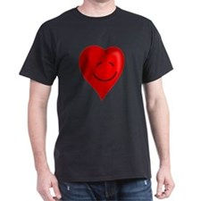 Valentines Day Smiling Heart T-Shirt