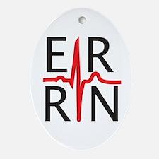 ER RN Oval Ornament