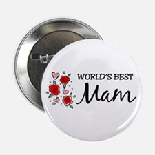 WB Mom [Welsh] Button