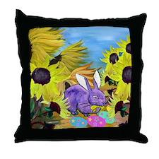 Easter art Throw Pillow
