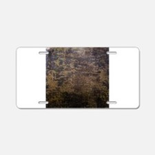 Rusted fabric texture Aluminum License Plate