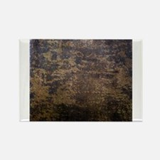 Rusted fabric texture Magnets