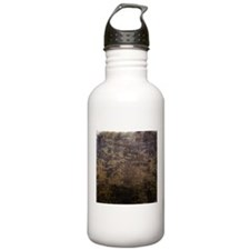 Rusted fabric texture Water Bottle