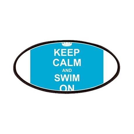 Keep Calm and Swim on Patches