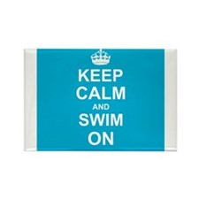 Keep Calm and Swim on Magnets