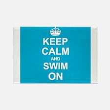 Keep Calm and Swim on Magnets