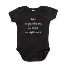 Love and a Cookie 1 Baby Bodysuit
