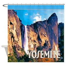 Bridal Veil Falls Yosemite National Park Shower Cu