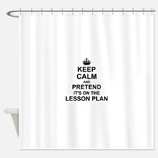 Keep Calm and Pretend its on the lesson plan Showe