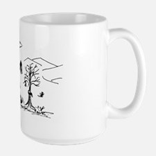 Tracking flags Mug
