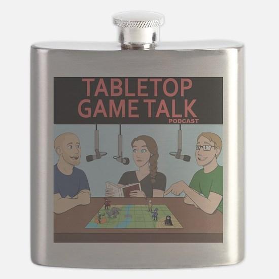 Unique Tabletop Flask