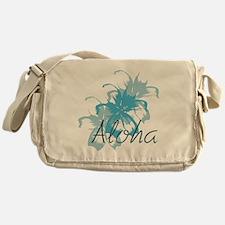 Aloha Floral Messenger Bag