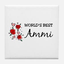 WB Mom [Urdu] Tile Coaster