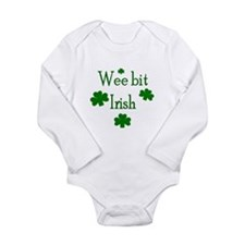 Wee bit Irish Body Suit