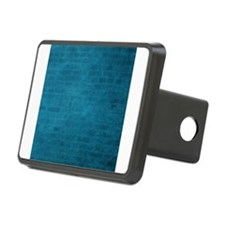 Teal brick texture Hitch Cover