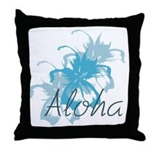 Aloha Floral Throw Pillow