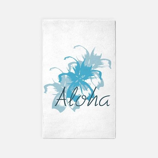 Aloha Floral 3'x5' Area Rug