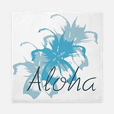 Aloha Floral Queen Duvet