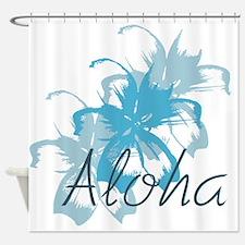 Aloha Floral Shower Curtain