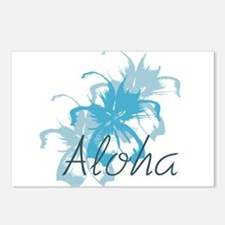 Aloha Floral Postcards (Package of 8)