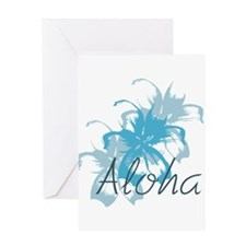 Aloha Floral Greeting Cards