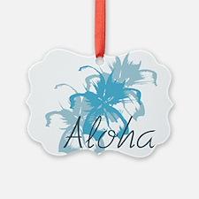Aloha Floral Ornament
