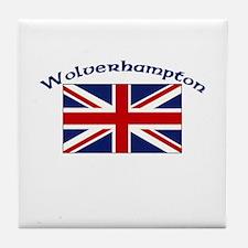 Wolverhampton, England Tile Coaster