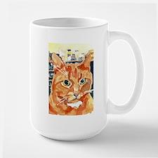 Ginger Tom Cat Portrait Mugs