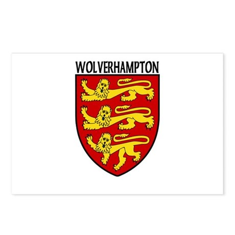 Wolverhampton, England Postcards (Package of 8)
