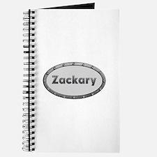 Zackary Metal Oval Journal