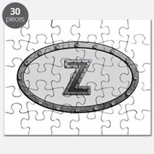 Z Metal Oval Puzzle