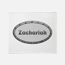 Zachariah Metal Oval Throw Blanket