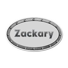 Zackary Metal Oval Wall Decal
