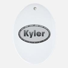 Kyler Metal Oval Oval Ornament