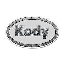 Kody Metal Oval Wall Decal