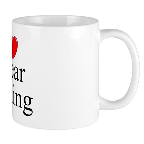 """I Love (Heart) Spear Fishing"" Mug"