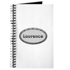 Laurence Metal Oval Journal